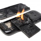 44926045 - mobile phone battery burn due to overheat