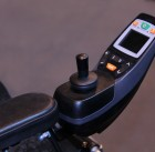 21995583 - the electric controls of a modern disability wheelchair